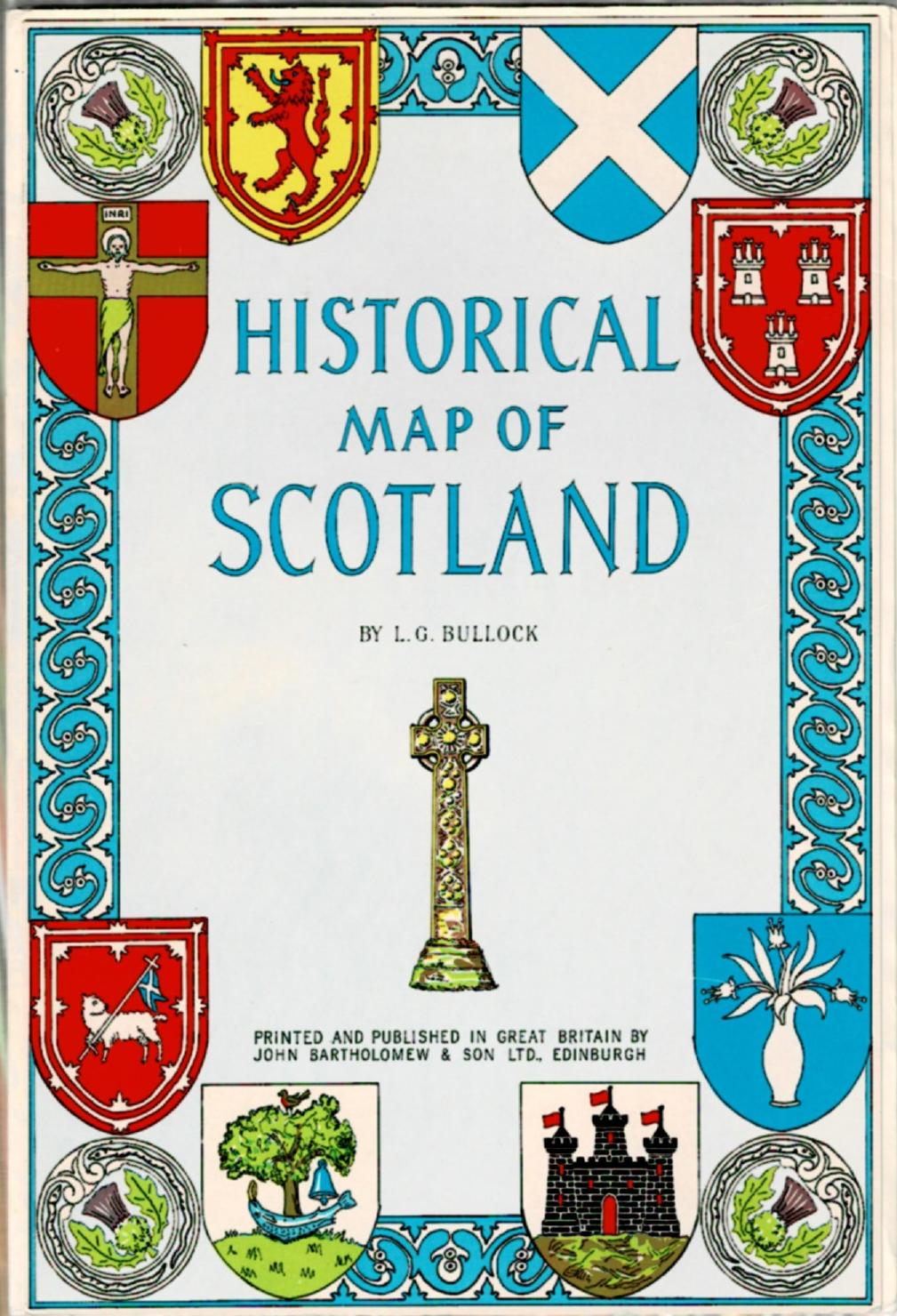 Image for Historical Map of Scotland