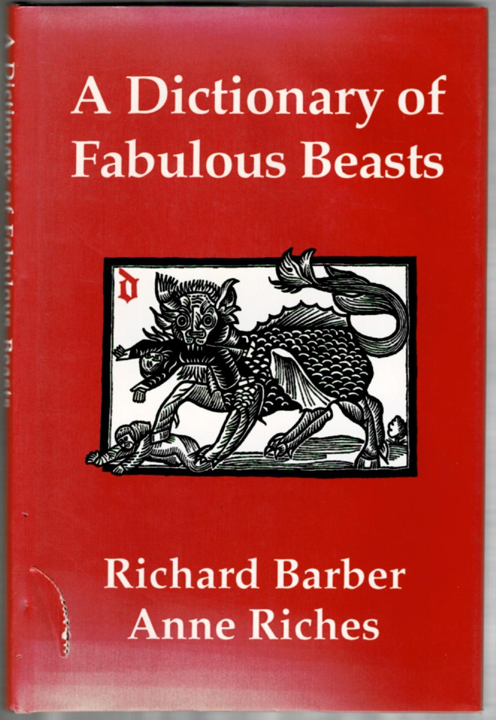 Image for A Dictionary of Fabulous Beasts