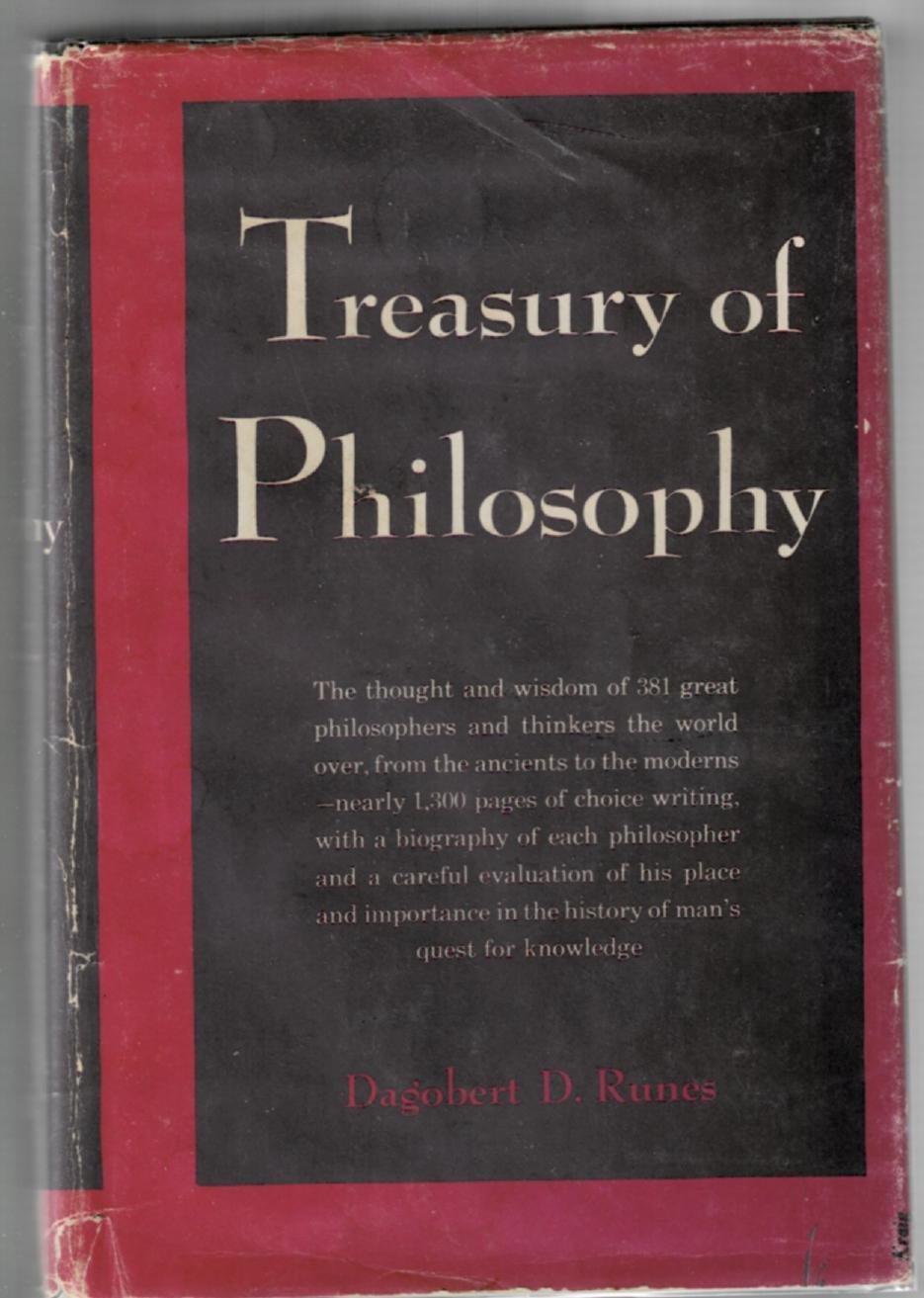 Image for Treasury of Philosophy