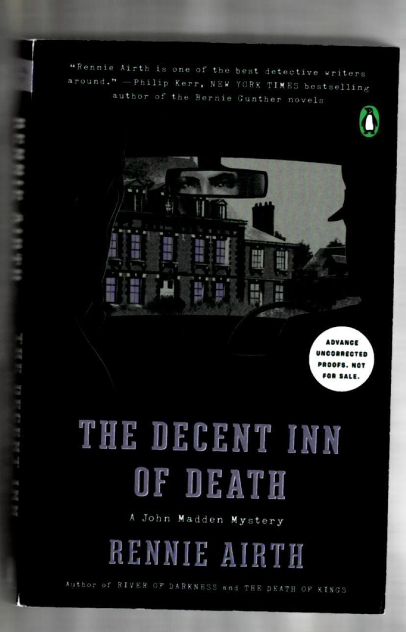 Image for The Decent Inn of Death: A John Madden Mystery