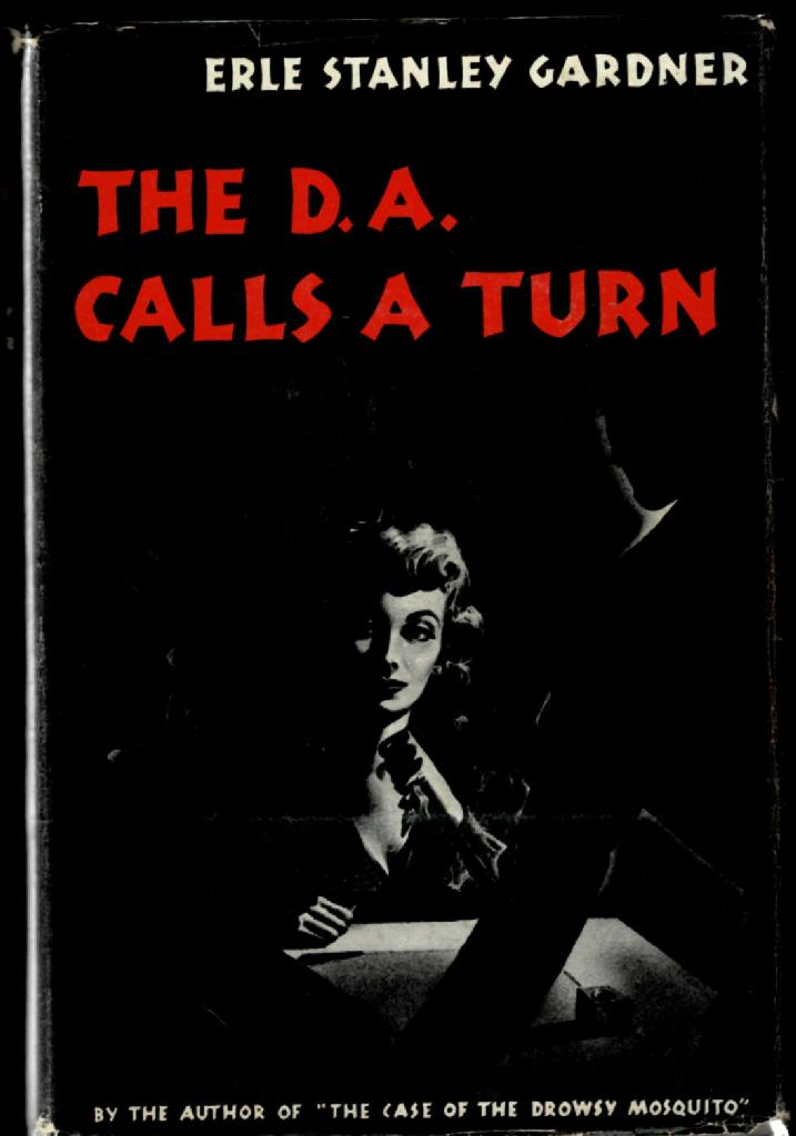 Image for The D. A. Calls a Turn