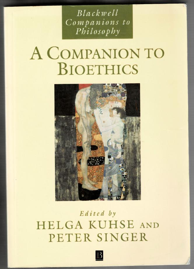 Image for A Companion to Bioethics